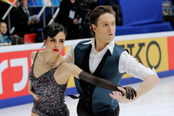 Los patinadores Sara Hurtado y Kirill Khalyavin quieren dejar el pabellón de España bien alto.