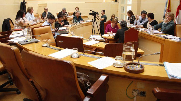 """Espantada de la oposición en el Pleno por el """"trato de favor"""" a Ciudadanos"""