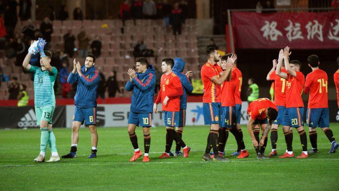 Los jugadores de la selección española Sub-21 no quieren relajarse ante su rival en el partido amistoso.