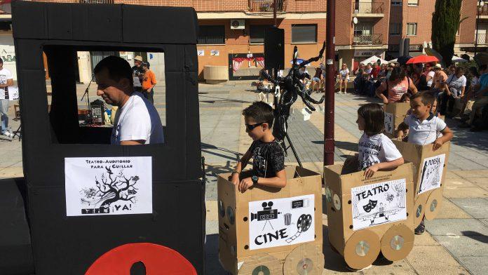 Reivindicaciones de un teatro auditorio en Cuéllar del pasado 30 de septiembre.