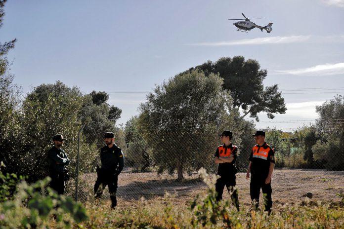 Dispositivo de búsqueda de los dos menores desaparecidos en Valencia.