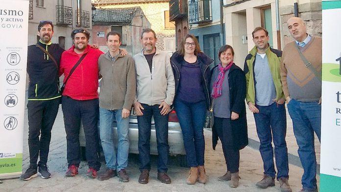 Nueva junta directiva de la Asociación Turismo Rural y Activo de Segovia. /E.A.