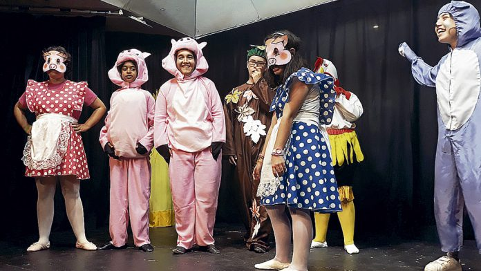 Grupo de teatro del centro Nuestra Señora de la Esperanza de Segovia, en la pasada edición. / el adelantado