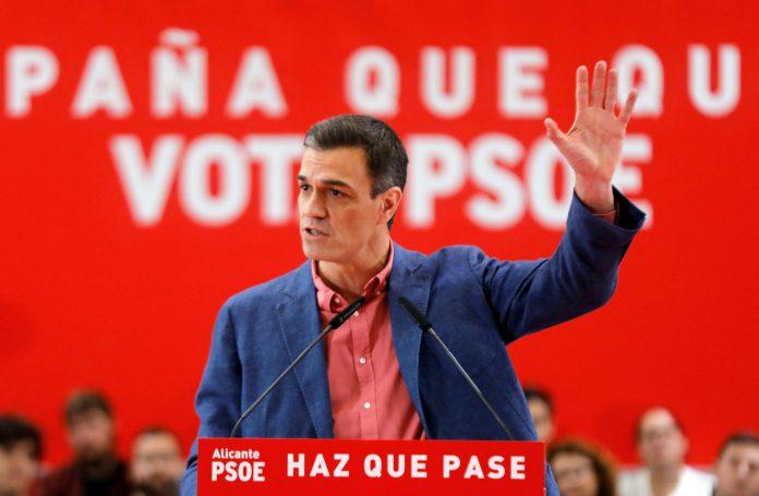 El presidente del Gobierno y candidato por el PSOE en las próximas elecciones generales, Pedro Sánchez.