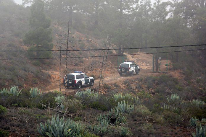 En el dispositivo de búsqueda participaron agentes de la Guardia Civil, Policía Nacional y efectivos de Bomberos.