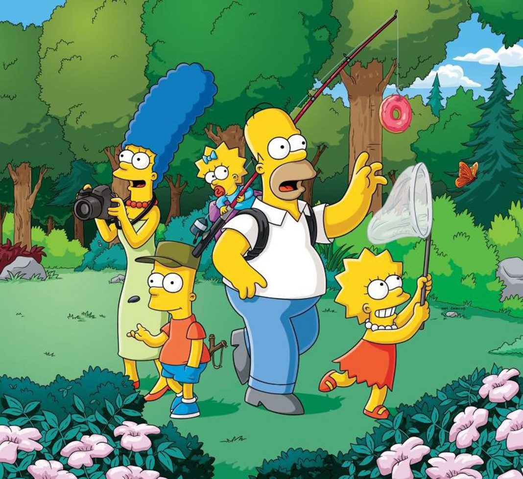 La carismática familia de Springfield formada por Marge, Homer, Bart, Lisa y Maggie ya forma parte del imaginario colectivo en España tras 25 años de emisión.