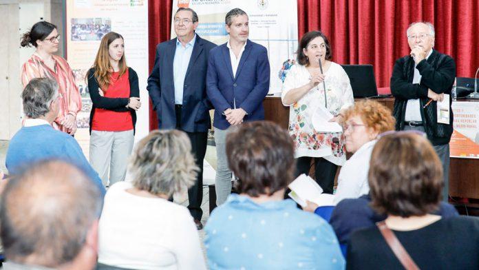 Los ponentes, en el inicio de la mesa redonda desarrollada en el Ágora. / alberto morala