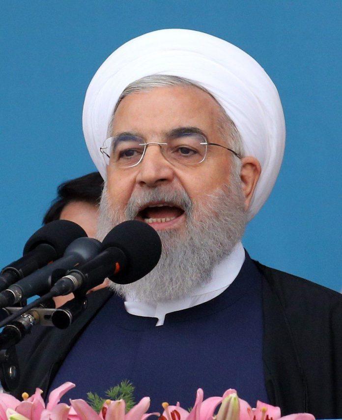 Foto de archivo del presidente de Irán, Hasan Rohaní.