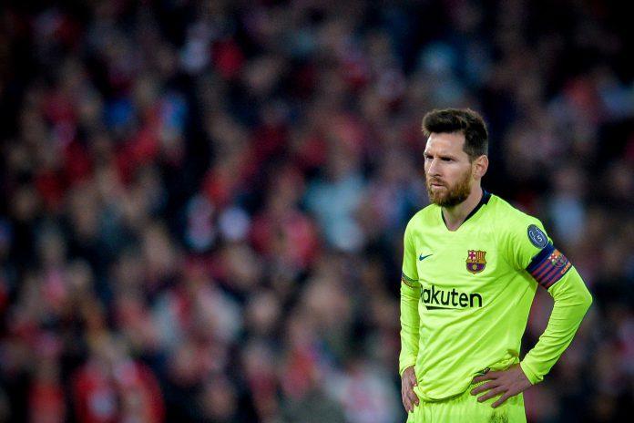 El jugador argentino del Barcelona Leo Messi, que marcó dos goles en la ida, no pudo ser una pieza clave en el estadio de Anfield ante el conjunto local, que fue una 'apisonadora'.