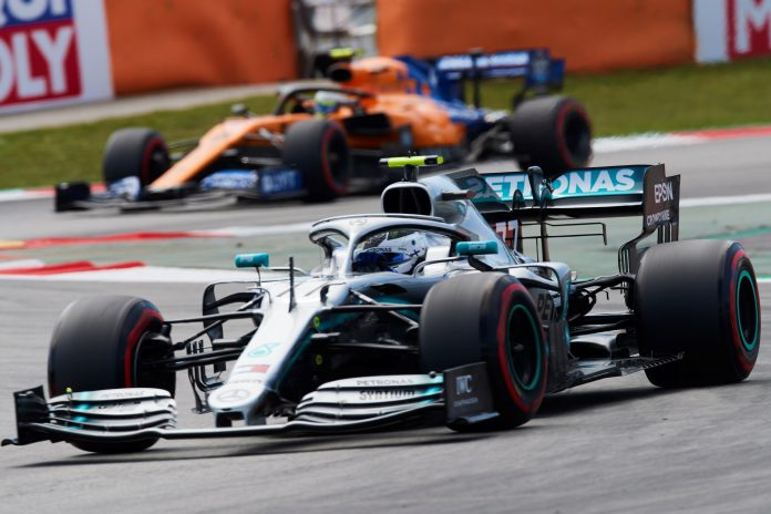 Valtteri Bottas, durante la sesión de clasificación