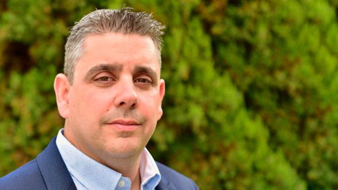 David de las Heras, candidato de Ciudadanos a la Alcaldía de Cuéllar