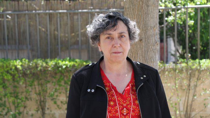 Montserrat Sanz, candidata de IU a la Alcaldía de Cuéllar