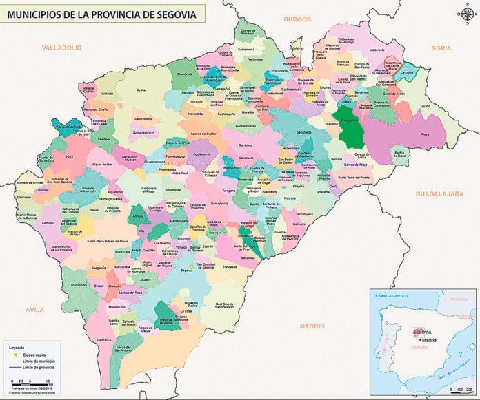 Pueblos De Segovia Mapa.Pueblos De Segovia Mapa Mapa Runtothemoonandback