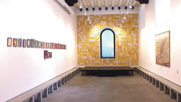 La Casa de la Lectura alberga la muestra de la obra de González de la Torre. / EL ADELANTADO