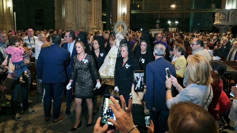 Subida de la Virgen de la Fuencisla