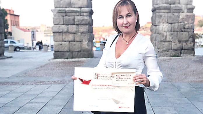 """Silvia Muñoz del Caz, gerente de la empresa """"El Campo"""""""