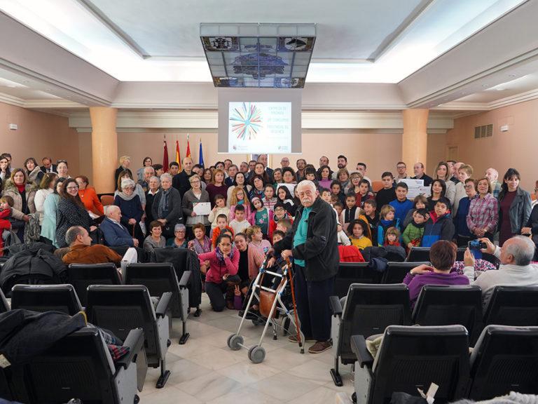Entrega de premios del concurso de belenes de la Diputación
