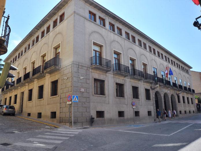 Palacio Justicia Audiencia Provincial Fachada