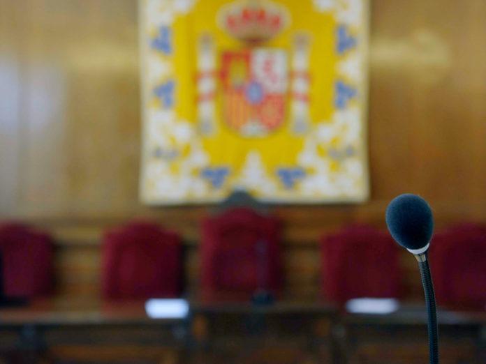 Sala Vistas Palacio Justicia
