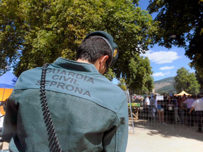 Guardia Civil Seprona San Ildefonso