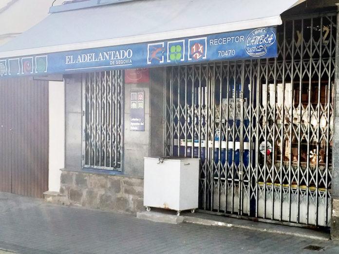 El popular establecimiento ubicado en la calle Pascual Marín atrajo la suerte al barrio.