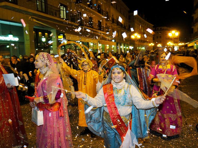 Desfile de martes de carnaval