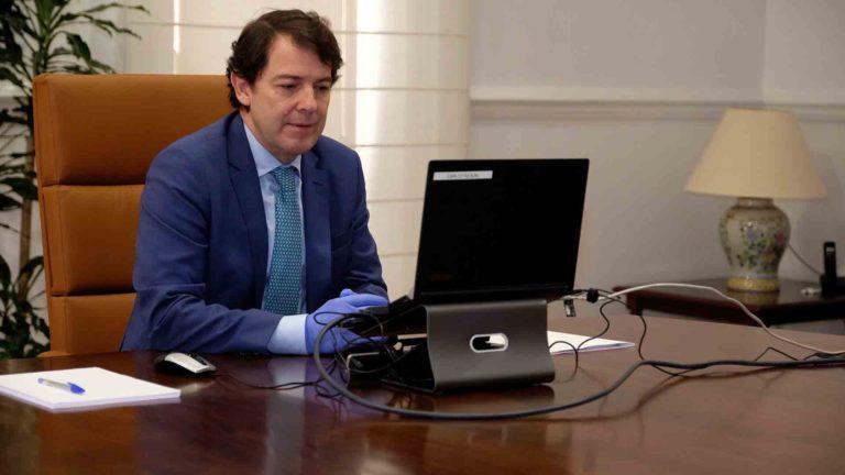 """Mañueco pide """"solidaridad"""" ante la situación de Castilla y León"""