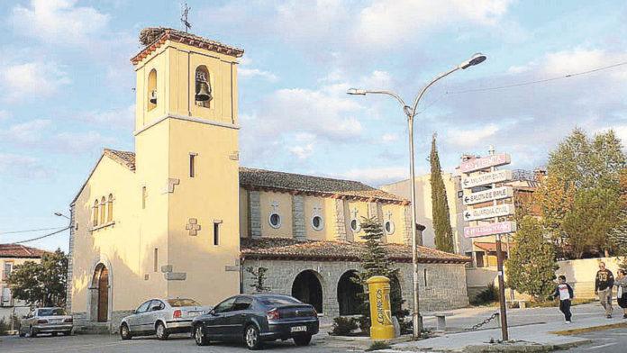 Iglesia de San Cristóbal de Segovia.