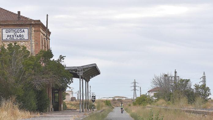Estación de Ortigosa del Pestaño.