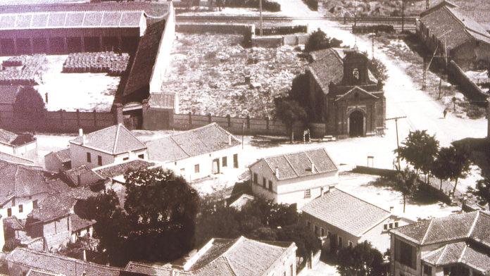 Cementerio viejo anterior a 1945 anexo a la ermita del Santísimo Cristo de la Inspiración.