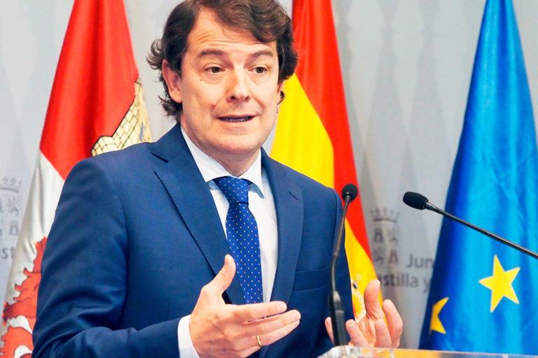 """Mañueco califica como """"castigo"""" el reparto de fondos del Covid-19"""