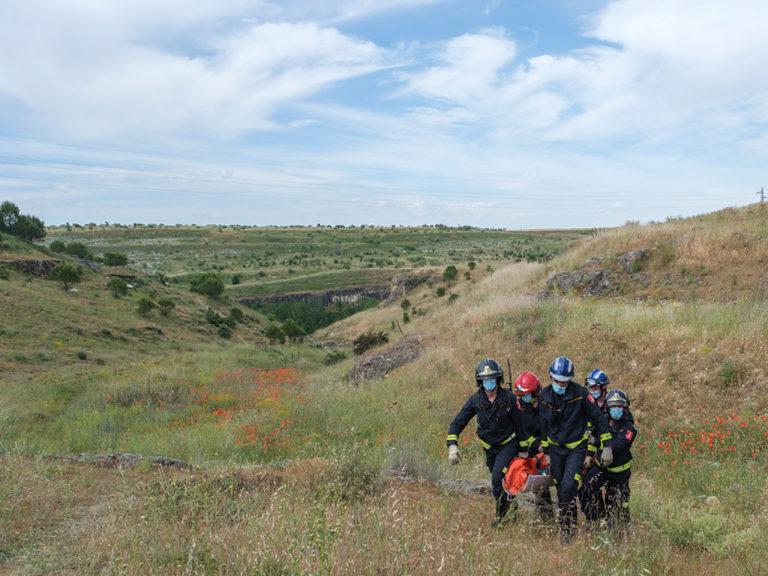 Rescate en el valle de Tejadilla