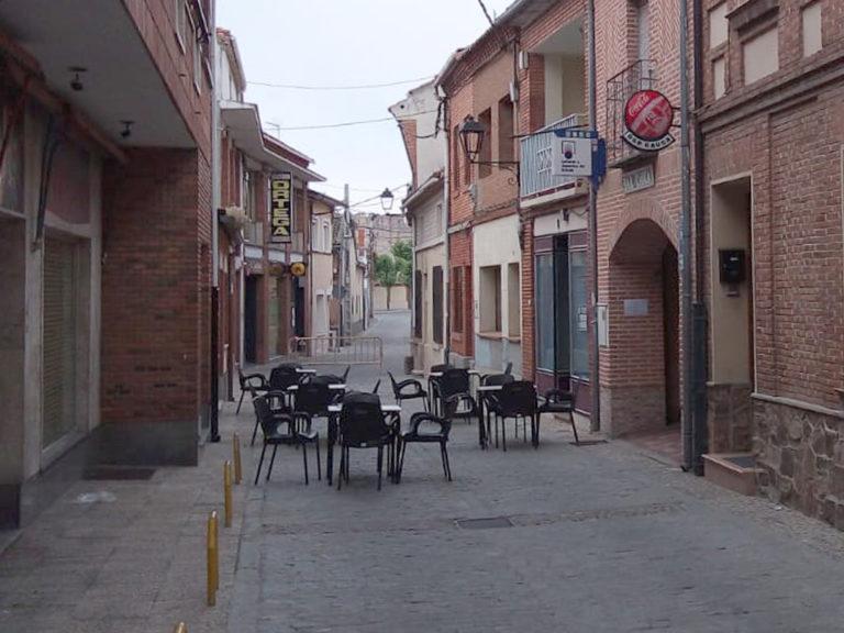 Peatonalización de calles en beneficio de la hostelería de Coca