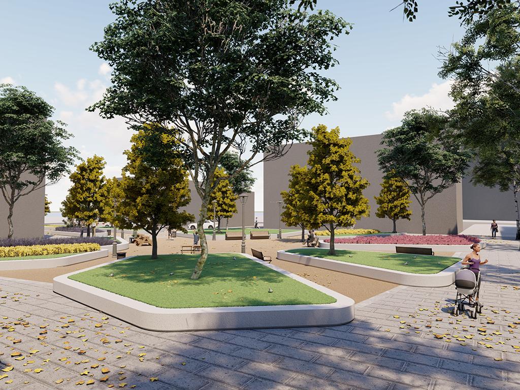 Una plaza jardín sustituirá al quiosco musical de San Millán