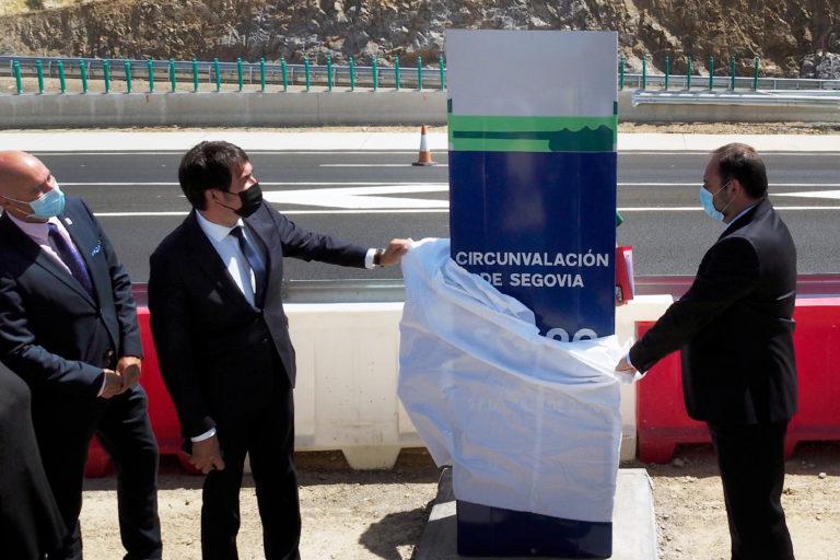 "Ábalos: ""¡Por fin completamos la circunvalación de Segovia!"""