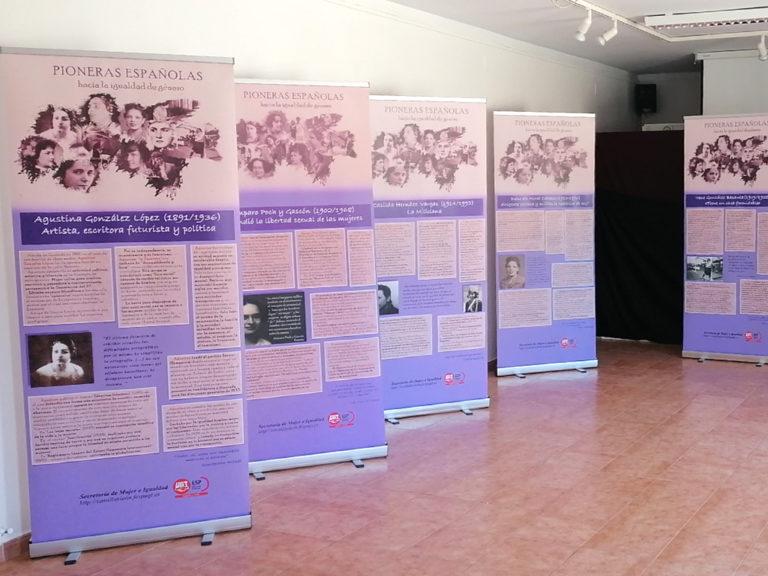 El Centro Cultural 'Los Pinares' de Nava de la Asunción muestra una exposición sobre mujeres pioneras