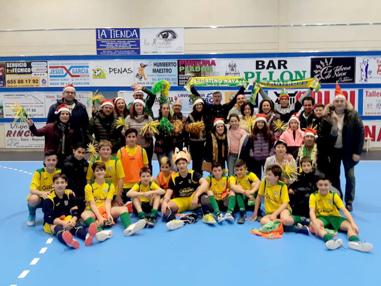 El C.D. Sporting Nava hace un balance positivo de la temporada
