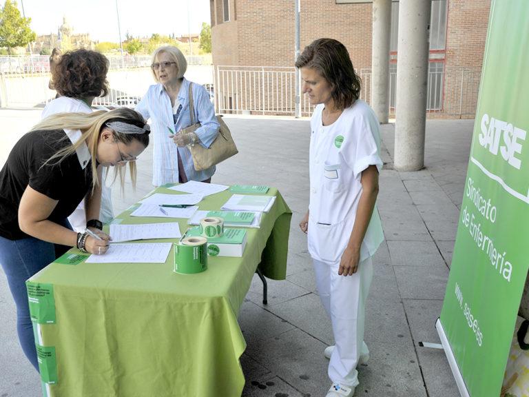 Segovia recurre a enfermeras de Andalucía para afrontar el verano