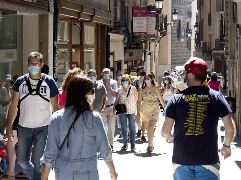 Segovia con mascarilla