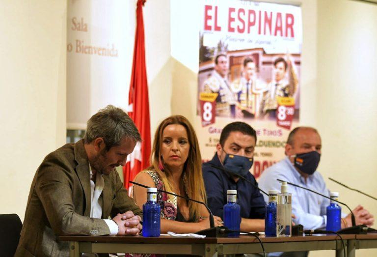 El Espinar presenta en Las Ventas una Feria taurina