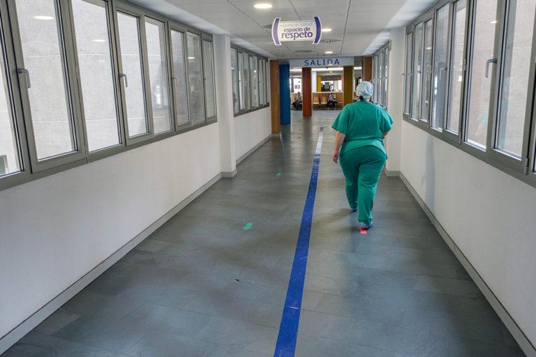 Baja la media de edad de los ingresados en el Hospital