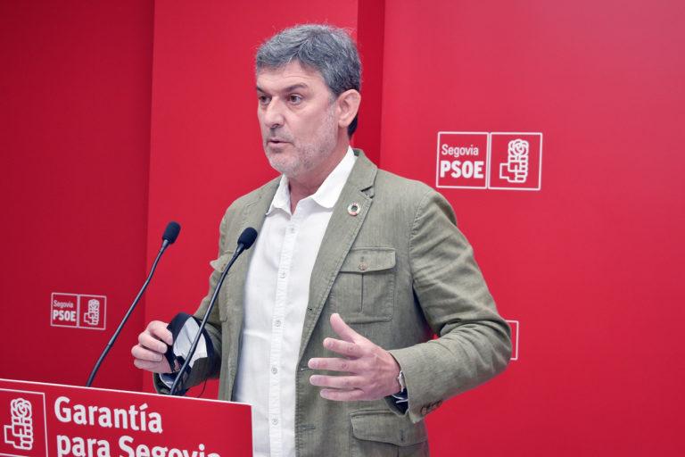 La Junta ha ejecutado solo el 42% de las inversiones en Segovia, según el PSOE