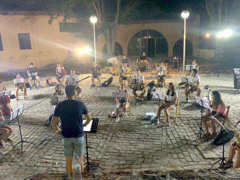 La Banda de Música de Coca traslada sus ensayos al Centro Cultural Fonseca