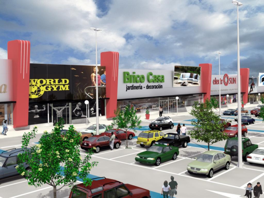 El nuevo parque comercial de Segovia tendrá entre 9.700 y 15.275 metros