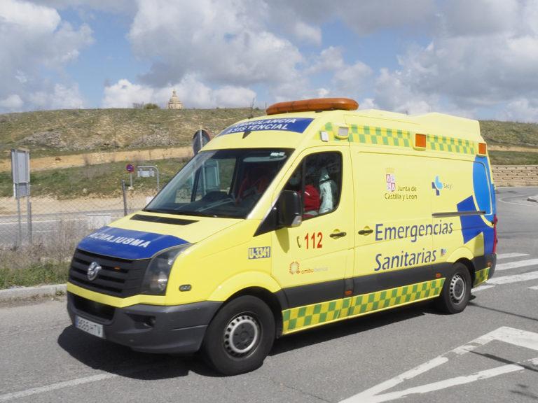 Rescatada una mujer que sufrió heridas al caer en la zona de El Nevero