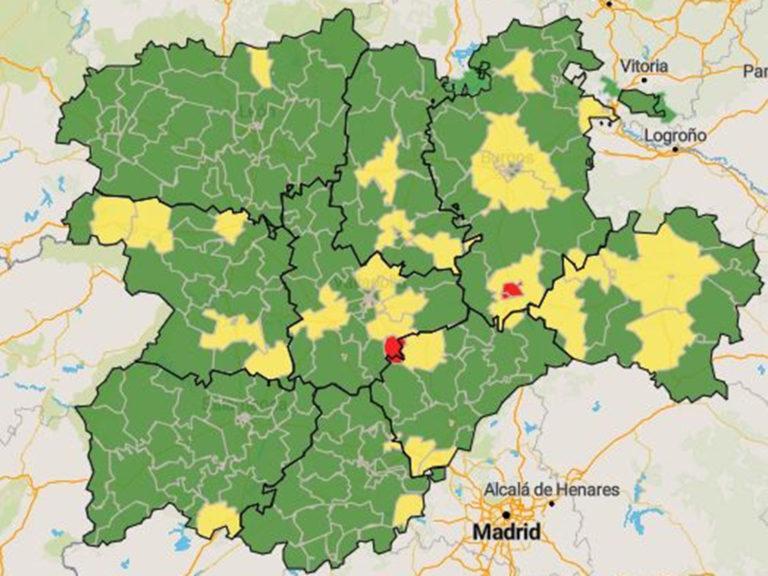Cuéllar, Villacastín y El Espinar, zonas de salud en riesgo