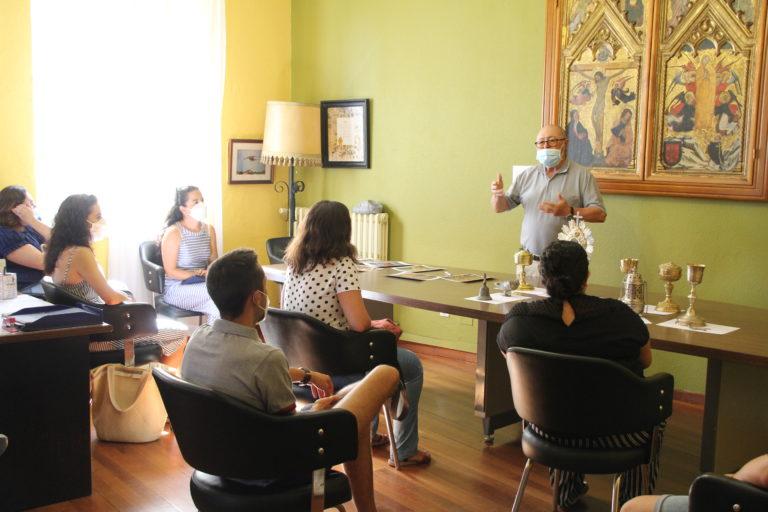 Concluyen las visitas 'Con el Patrimonio, puntualmente' en Cuéllar
