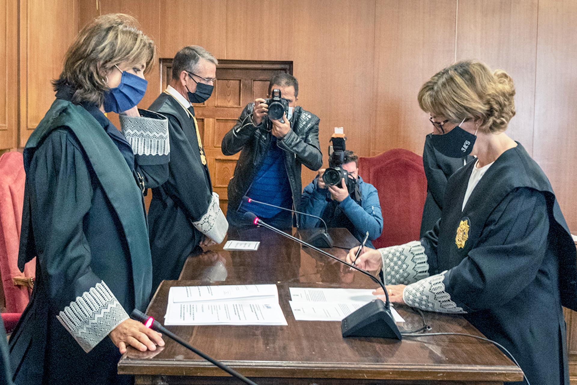 """La nueva fiscal jefe de Segovia procurará """"especial atención"""" a las víctimas"""
