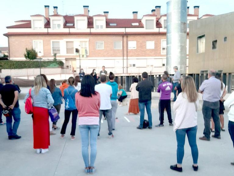 """Hontanares de Eresma reclama un centro educativo """"digno"""""""