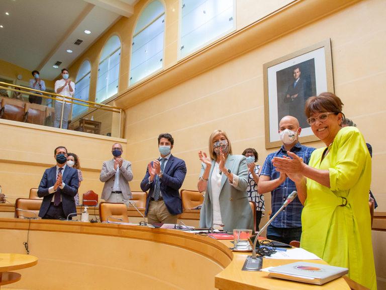 Galería fotográfica del adiós de Claudia de Santos como concejala del Ayuntamiento de Segovia